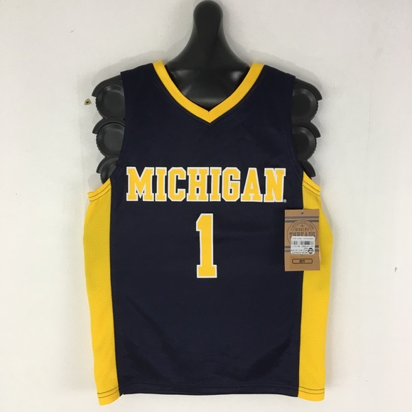 086eba2bad1 NCAA Shirts & Tops | University Of Michigan Basketball Jersey | Poshmark